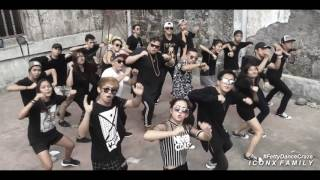 Black Squad hit some new dance craze Iconx family Ghoods Female Dis...