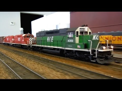 HO Scale: BIG and little, trains on the Kansas City Eastern
