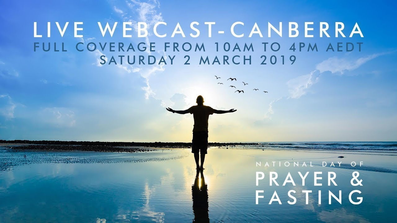 National Day of Prayer & Fasting – Join us we pray for