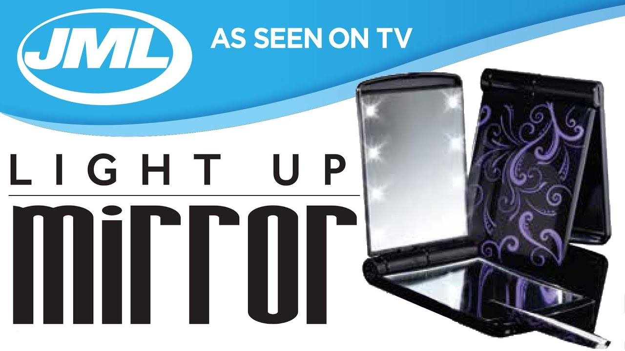 Light Up Mirror From Jml Youtube