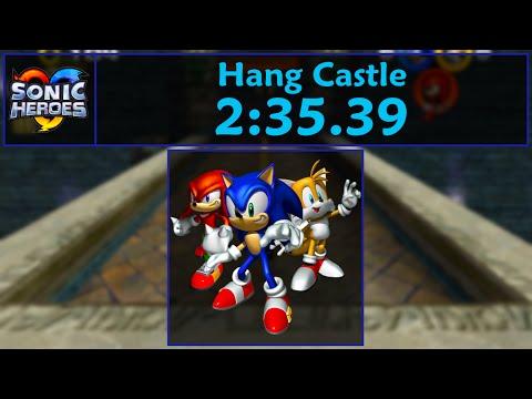 Sonic Heroes - Team Sonic Hang Castle Speedrun - 2:35.39