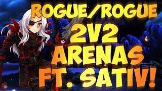 ♣ Sensus | WoW Combat Rogue PvP | Rogue/Rogue 2v2 Arenas! (WoW WoD Rogue PvP) [Patch 6.0.3]
