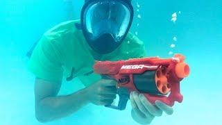 UNDERWATER NERF GUN!!