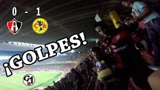 ATLAS vs América 0-1   PELEA DENTRO DEL ESTADIO   Apertura 2017   Liga MX   Jornada 4   G1