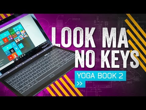 Too Thin For A Keyboard: Lenovo Yoga Book C930 Hands-On