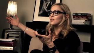 Making of WE Madonna Movie Part 1