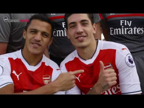 Arsenal's first team photocall 2016/17 | Behind the scenes