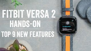 Fitbit Versa 2 with Amazon Alexa Hands-on: Top new features explained