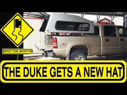 The Scotts Get a Truck Topper! Full Time RVing Here We Come! {#56}