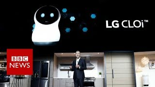 CES 2018: Robot refuses to co-operate with LG chief - BBC News thumbnail