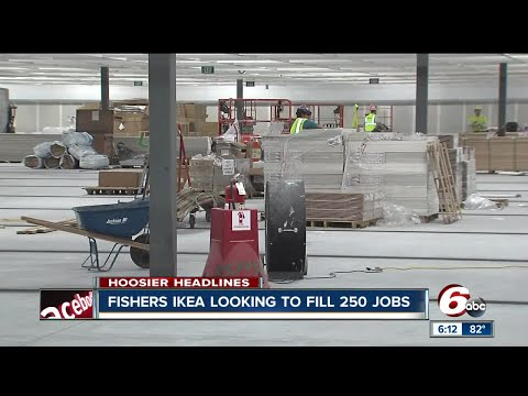 IKEA hiring 250 people for Fishers store