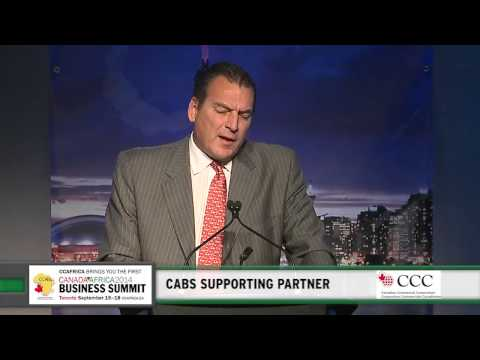 CABS, Looking Forward Session with Pierre Alarie, Vice-President, CCC