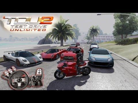 TDU 2 - Moto com Logitech G27! Zoeira com os brothers!