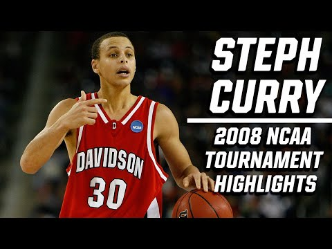 Stephen Curry: 2008 NCAA tournament highlights, top plays