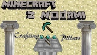 Minecraft z Modami #3 - Crafting Pillar Mod - Craftuj w 3D!
