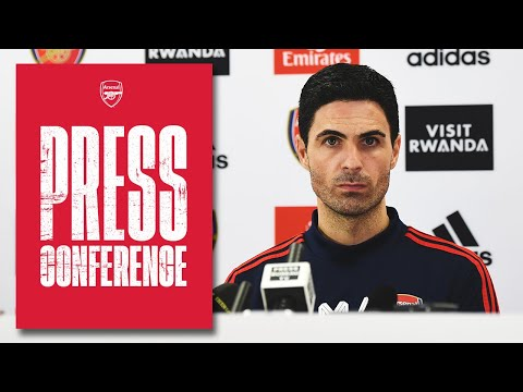 Mikel Arteta on Ozil's squad omission, Thomas Partey, Aubameyang, Rapid Vienna | Press Conference