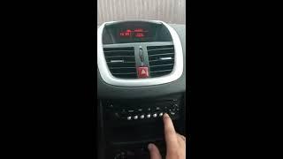 ЯК НАЛАШТУВАТИ ЧАС І ДАТУ НА Peugeot 207