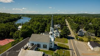 A Sunny Day in Dover-Foxcroft Maine