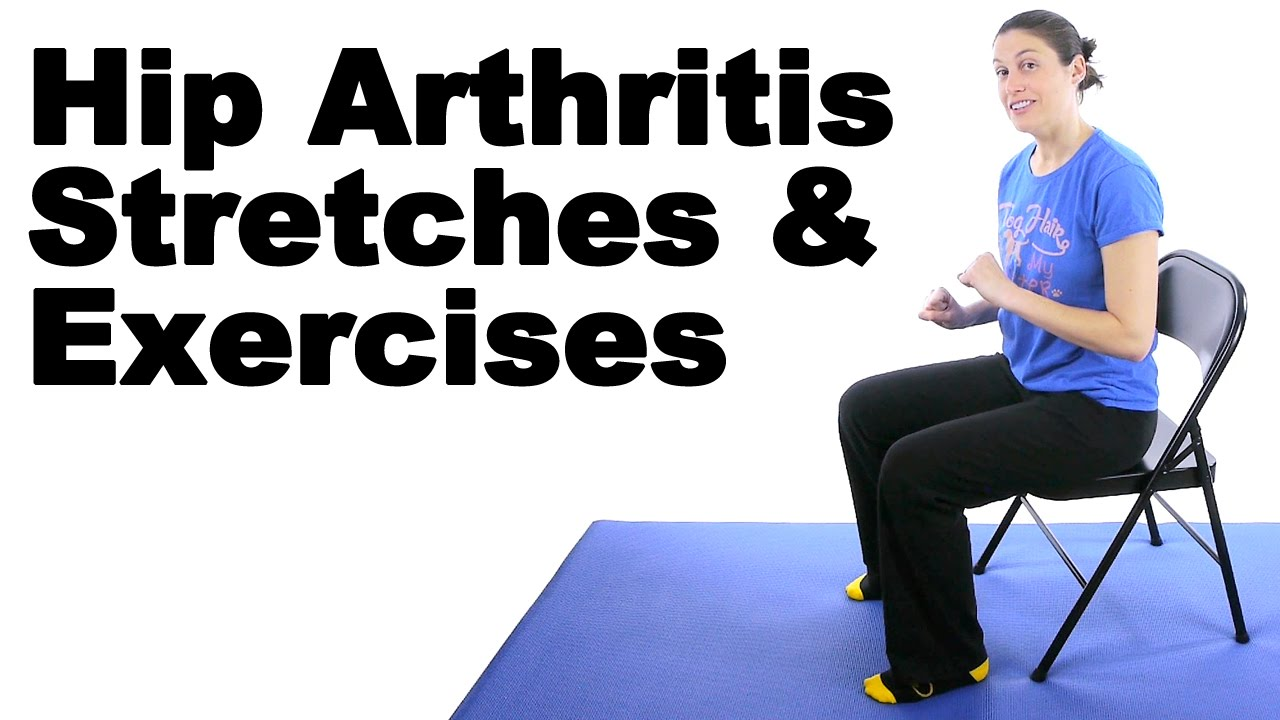 Chairs For Hip Pain Folding Camping Walmart Arthritis Stretches Exercises Ask Doctor Jo Youtube
