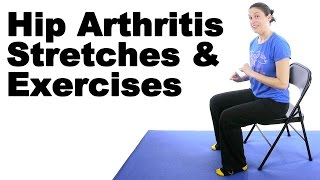 Hip Arthritis Stretches & Exercises - Ask Doctor Jo Video