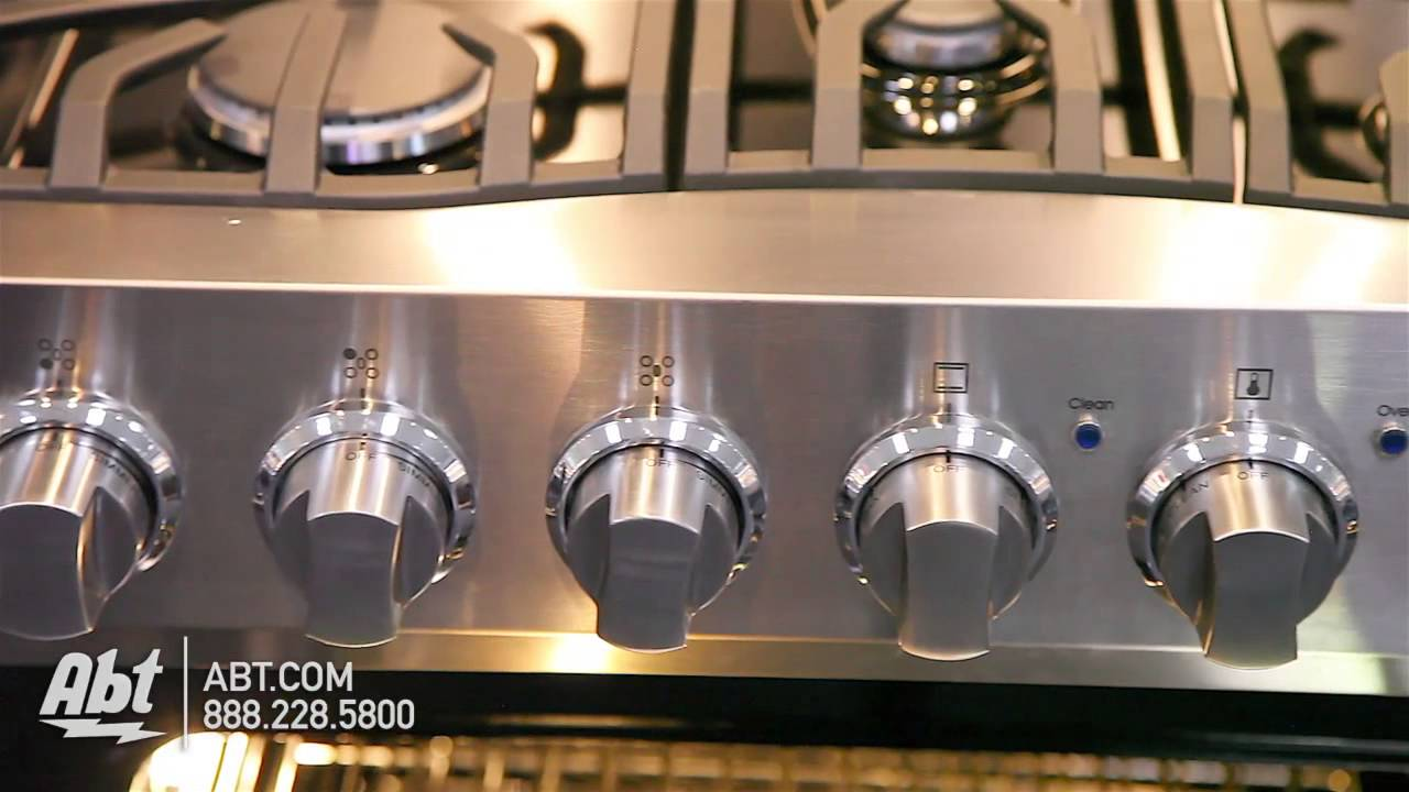 viking 30 stainless steel free standing gas range rvgr3305 overview youtube
