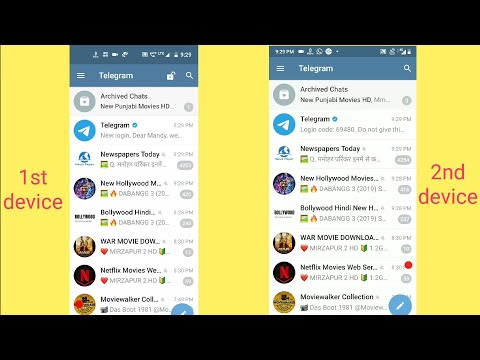 How to use telegram on two devices