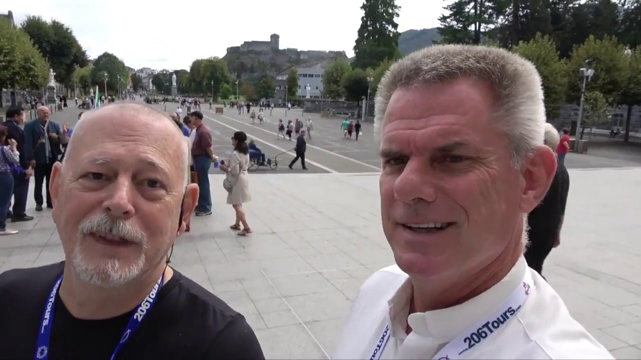 Fr. Peter Dugandzic Marian Pilgrimage to Lourdes with 206 ...