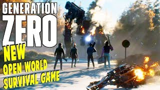 Generation Zero - NEW Survival Game - War Against Machines | Generation Zero Gameplay
