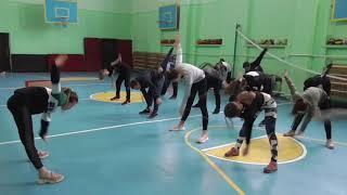Урок легкой атлетики. 8-е классы Клюев А.В. Часть 1