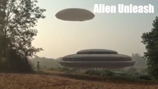 ALIEN GOES INSIDE FLYING SAUCER UFO!!! REMARKABLE FOOTAGE!! 22nd April 2018!!!