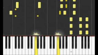 "Sara Bareilles - ""Love Song"" on Synthesia"