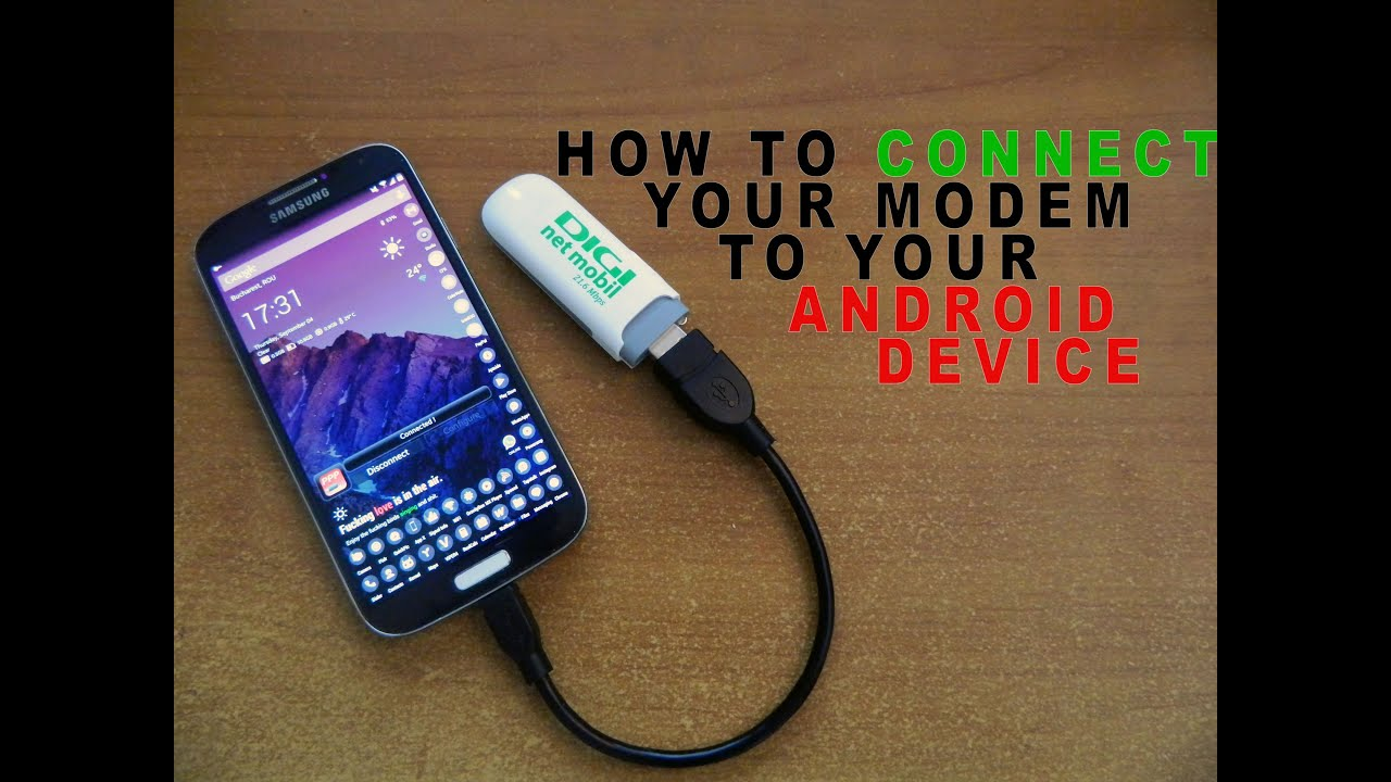 How to connect your usb internet modem to your android device ppp how to connect your usb internet modem to your android device ppp widget 2 digi mobil net youtube greentooth Images