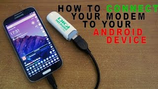 HOW TO CONNECT YOUR USB INTERNET MODEM TO YOUR ANDROID DEVICE - PPP WIDGET 2 - DIGI MOBIL NET