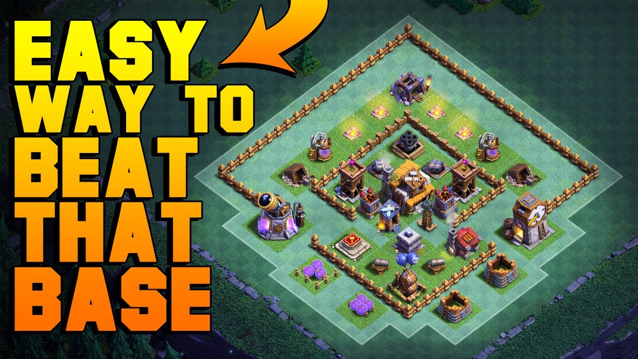 How To Attack Most Popular Anti 1 Star Bh5 Base Coc