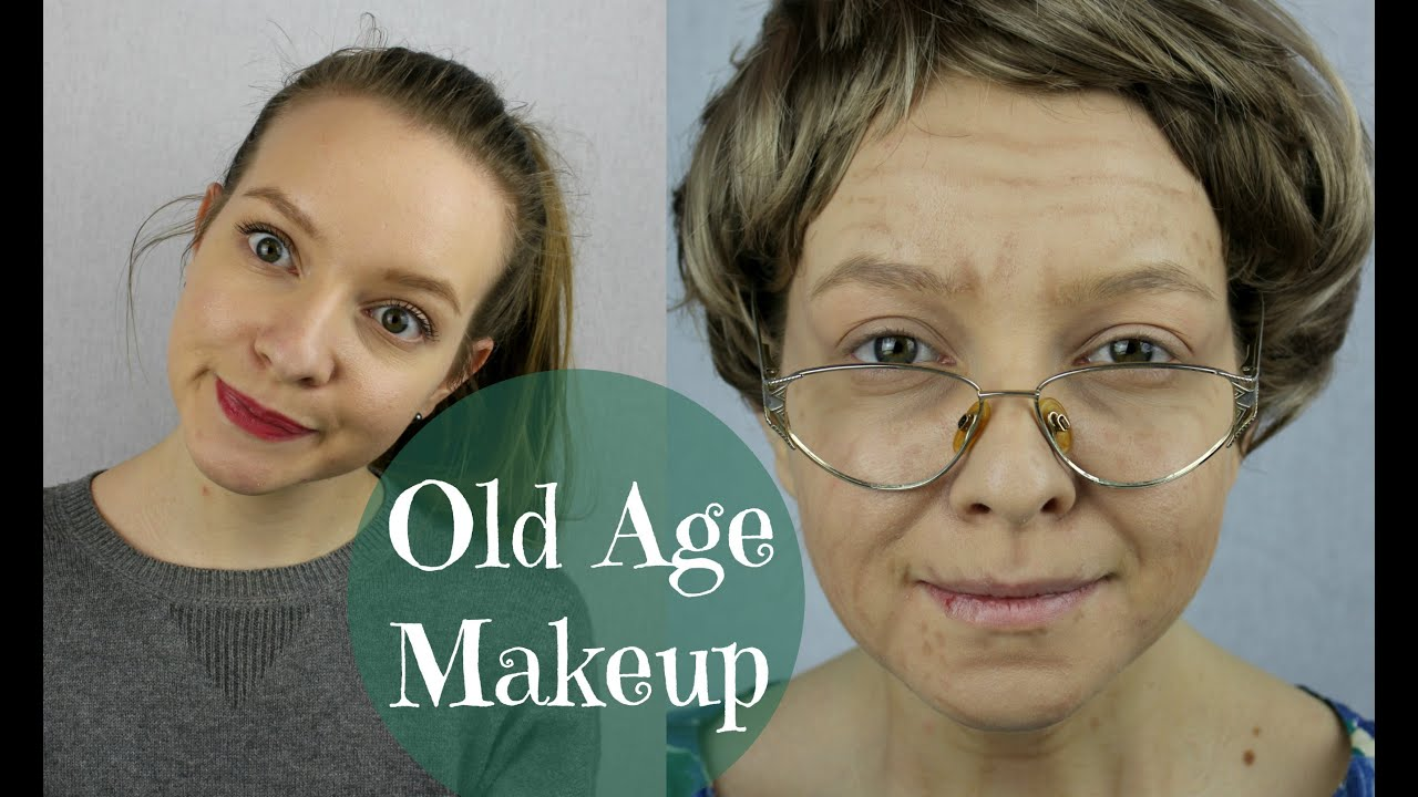 Old Age Makeup Tutorial - YouTube