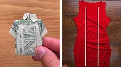 10 Genius Folding Hacks That Will Save You Space and Time!! Life Hacks by Blossom