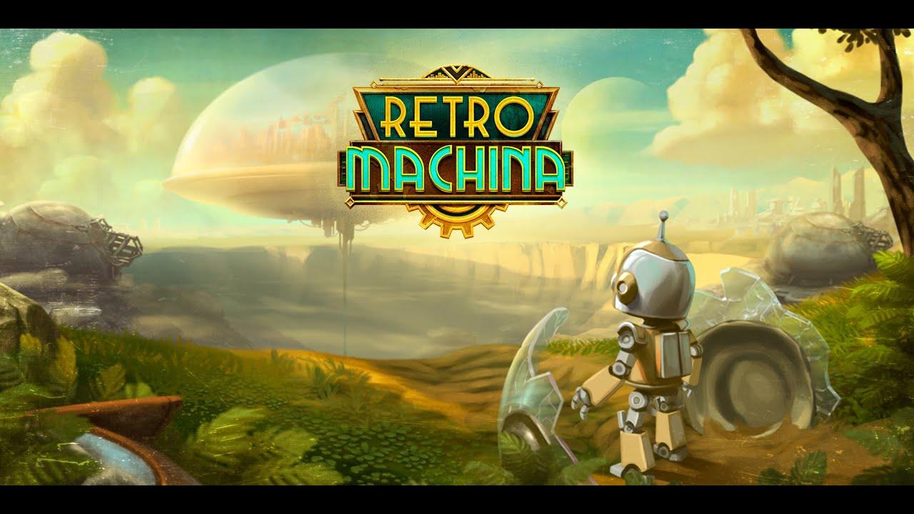 Un robot xikito, perdido en un mundo muy tocho   Retro Machina