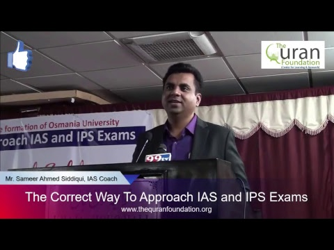 The Correct Way To Approach IAS and IPS Exams