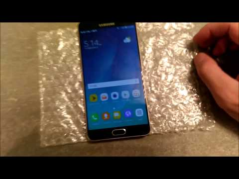 BUYING A 9/10 USED PHONE FROM EBAY? SAMSUNG GALAXY NOTE 5 UNBOXING AND REVIEW