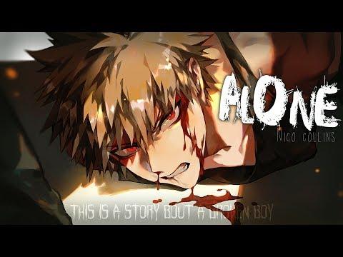 Nightcore ↬ Alone [lyrics]