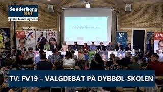 FV19: Valgdebat på Dybbøl-Skolen