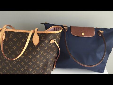 Louis Vuitton Neverfull Vs Longchamp For Vacation!!! Which Wins???
