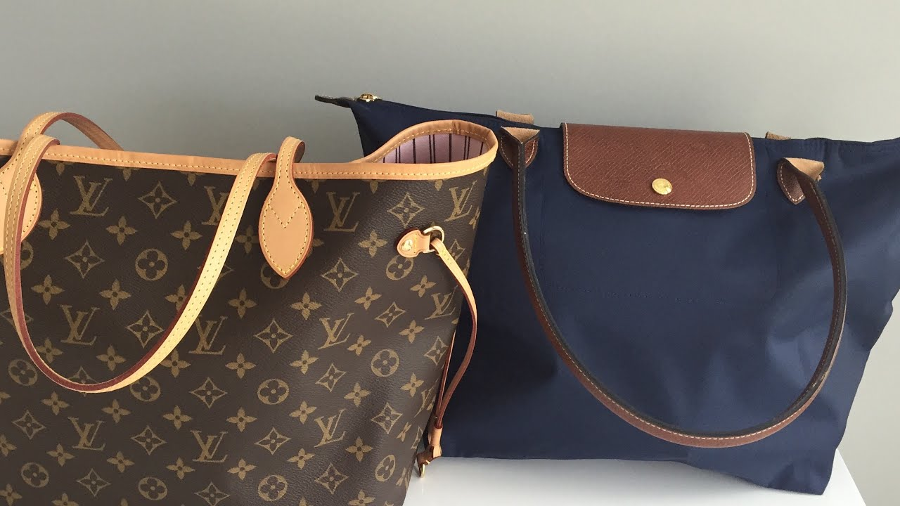 Louis Vuitton Neverfull Vs Longchamp For Vacation Which Wins Neo Ruby Sz Small