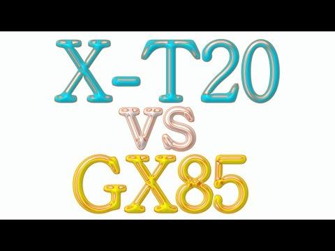 Fujifilm X-T20 vs Panasonic Lumix GX85