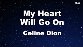 My Heart Will Go On - Celine Dion Karaoke【With Guide Melody】
