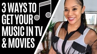 HOW TO EARN ROYALTIES FROM TV & MOVIE PLACEMENTS FOR YOUR MUSIC 2019
