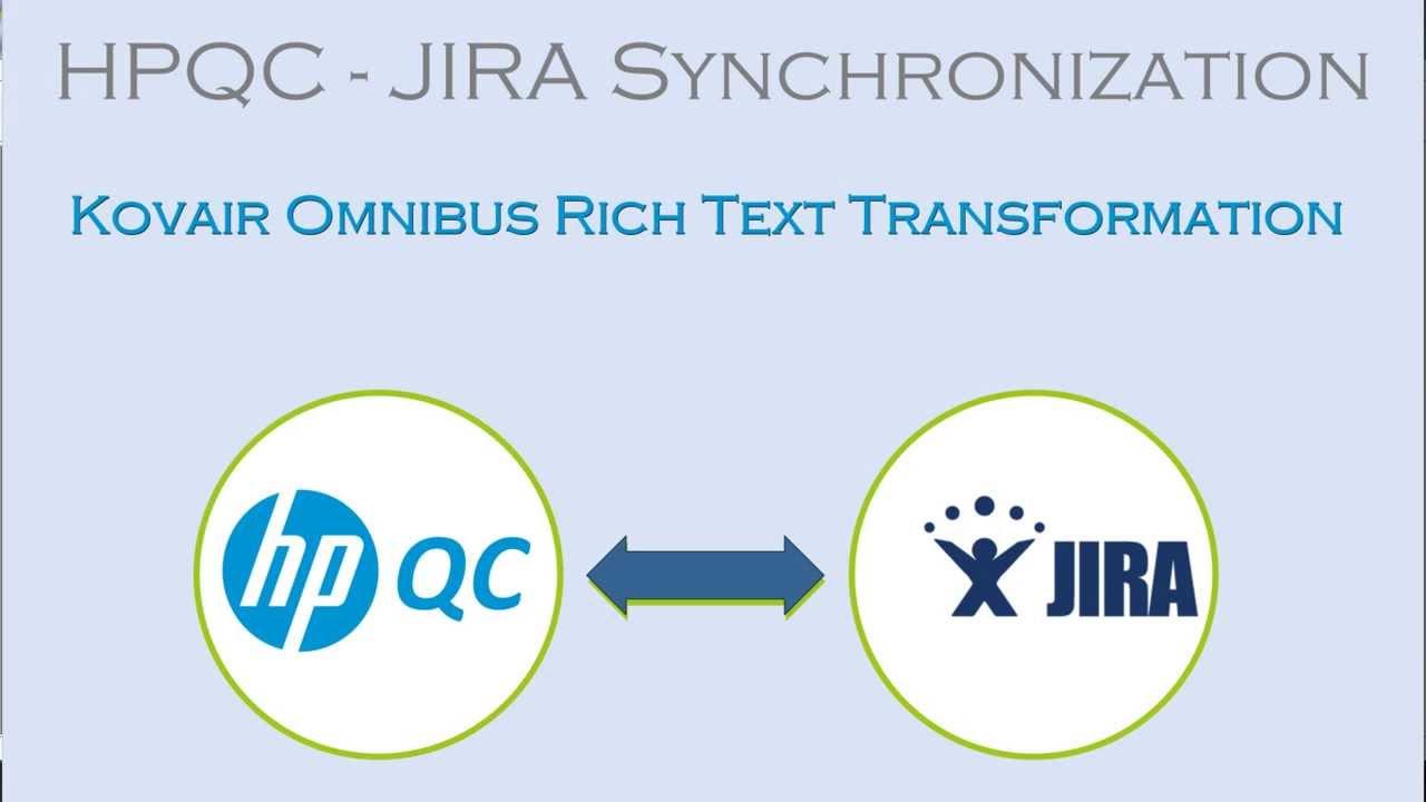 Rich Text Transformation between HP QC and JIRA