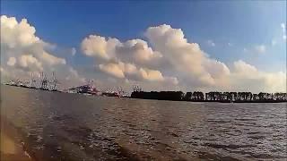 Kymco Yager GT 50 Hamburg Beach Onboard Video Drive