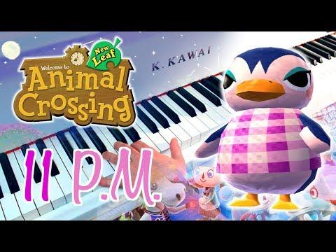 🎵 11PM (Animal Crossing: New Leaf) ~ Piano arrangement w/ Sheet music!