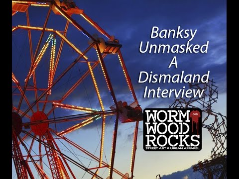 Banksy Unmasked - Dismaland Interview from Street Artist Banksy.